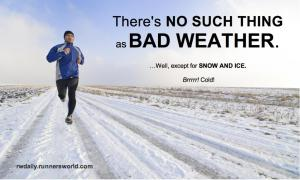 Bad Weather Motivation