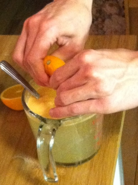 And squeeze oranges for electrolytes.